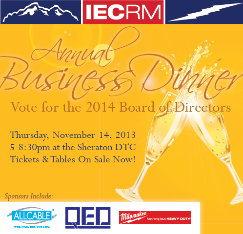 IECRM Annual Business Dinner and Board of Directors Election