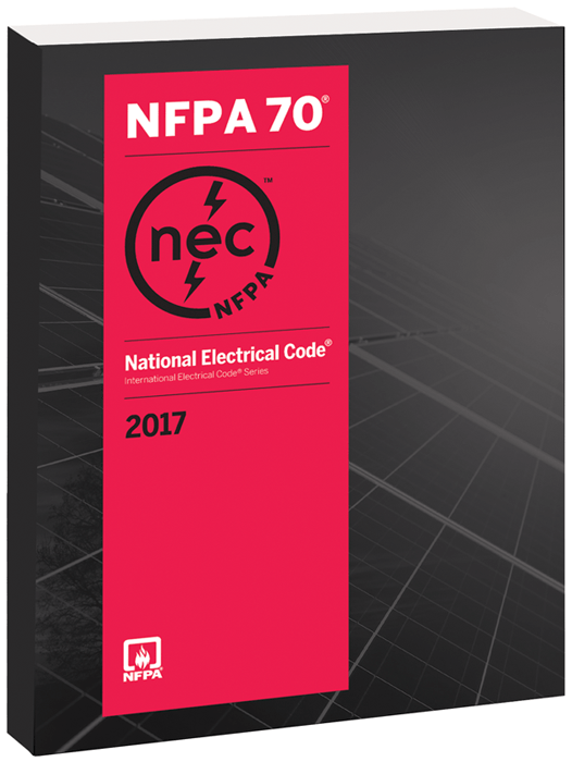2017 NEC Code Book Photo